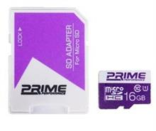 Prime UHS-I U1 Class 10 16GB 85MBps microSDHC With Adapter